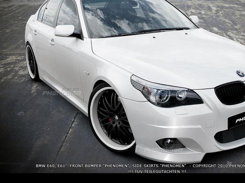 Dokładki Progów BMW 5 E60 / E61 < Phenomen > - GRUBYGARAGE - Sklep Tuningowy